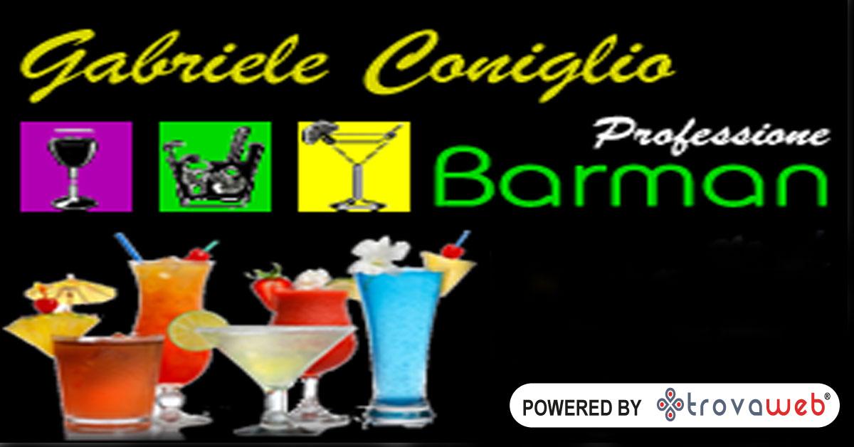 Gabriele Coniglio Bartender - Working Flair a Palermo