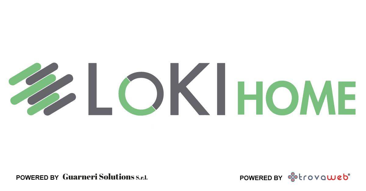 Sistema di Allarme Casa Anti Clonazione LokiHome